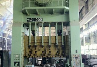 Voronezh Sheet stamping press KA3540 1000 Ton