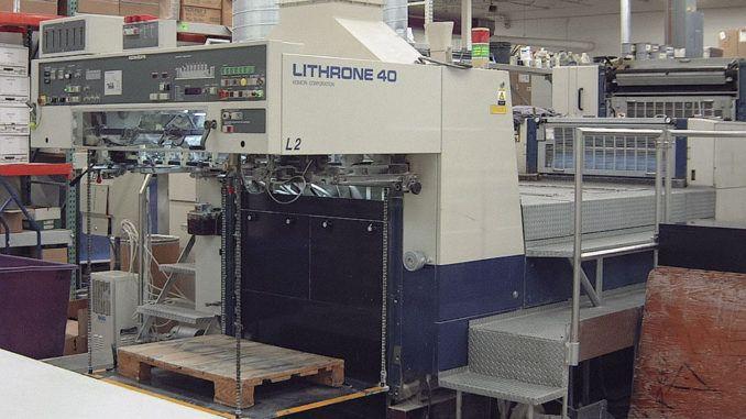 Komori L640+CX 28 x 40 inch