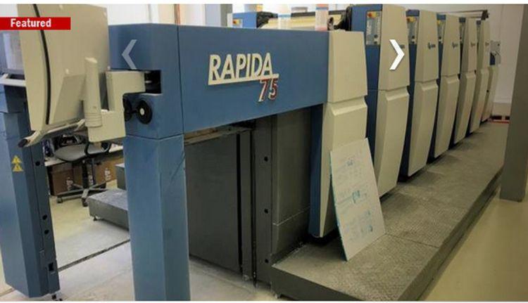 KBA Rapida 75-5 CX 75 x 53 cm