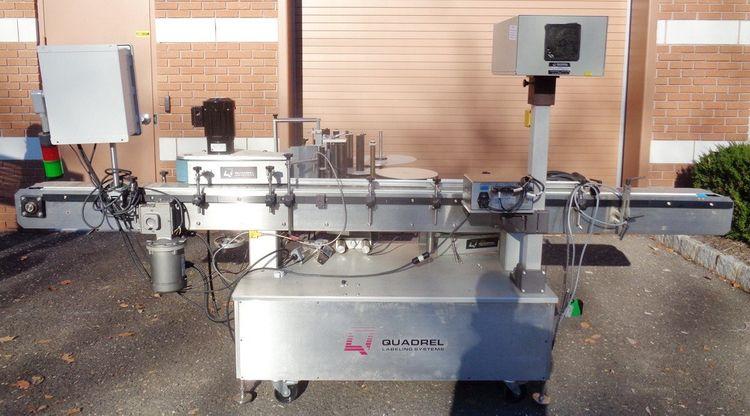 Quadrel Versaline Automatic Pressure Sensitive Labeler