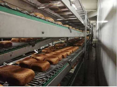 Capway, Gostol, WP Tin bread line approx. 3000 breads an hour