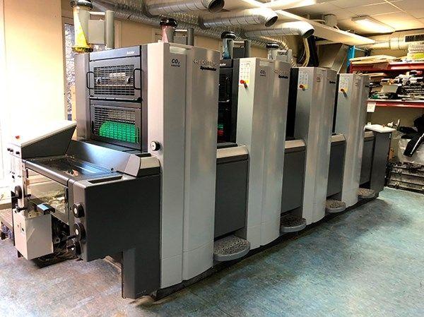 Heidelberg Speedmaster SX 52-4 Anicolor 4 370 x 520 mm