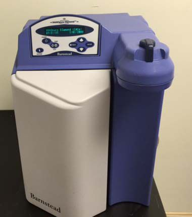Barnstead D11921, NANOPure DIamond Ultrapure Water system