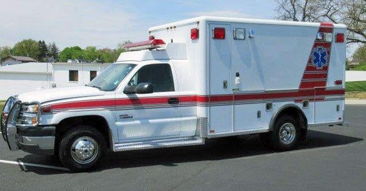 Chevy, Horton Fire Truck