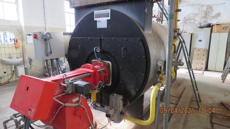 Garioni Steam boiler 4.000 KG/H