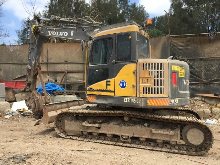 Volvo ECR145CL Excavator