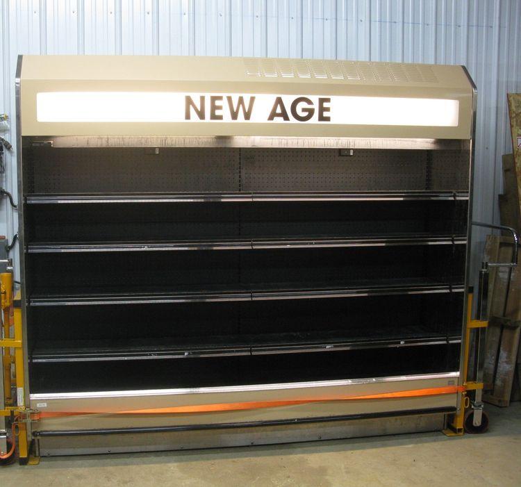 2 Barker 9524 Multi Deck Case Cooler