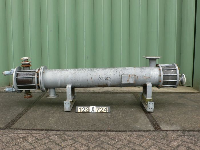 Sigri RS 77-1-3720.3 Heat exchanger