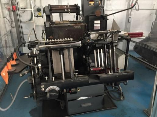 Heidelberg GTP with Hot Foil  34 x 46 cm