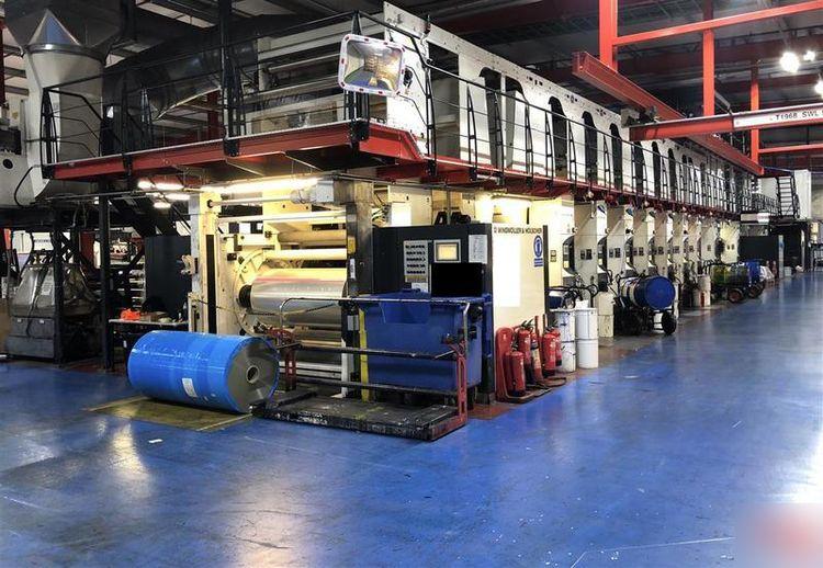 Windmoller & Holscher HELIOSTAR GE, Rotogravure press 1720 mm