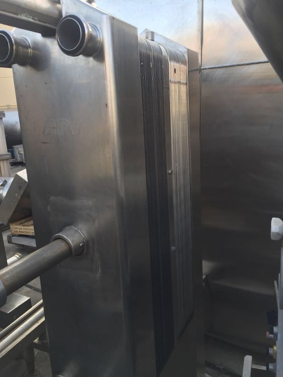 APV Heat Exchanger / Pasteurizer – Sanitary Gasketed