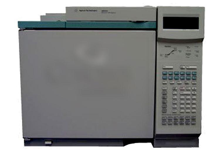 Agilent 6890 GC with ECD and Single Split-less