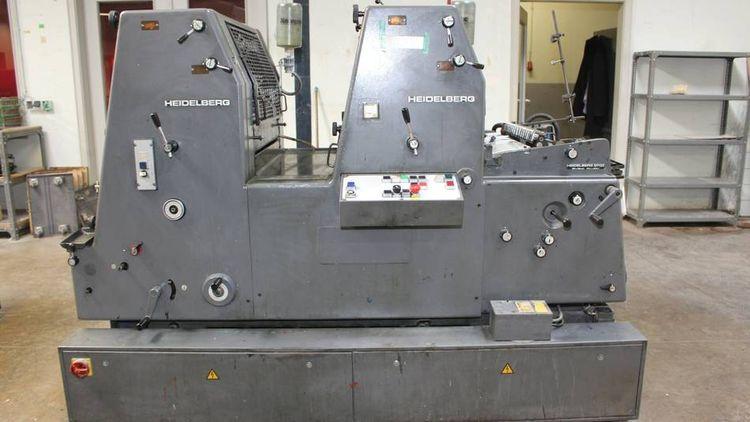 Heidelberg GTOZ52+ 360 x 520mm