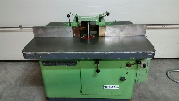 Hemag 7-spindle wood Hemag spindle moulder