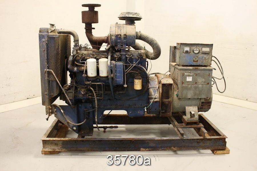 Hercules D4800 BT 130 kVA 6 Cylinder 104KW Diesel