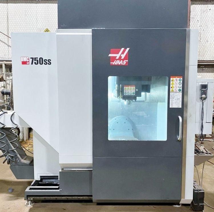 Haas UMC-750SS 3 Axis