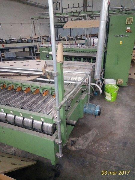 Croon & Lucke FG 102 Shrinking bulking machine for yarn