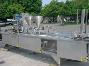 Fords Holmatic PR-2S, CUP/TRAY PACKAGING LINE