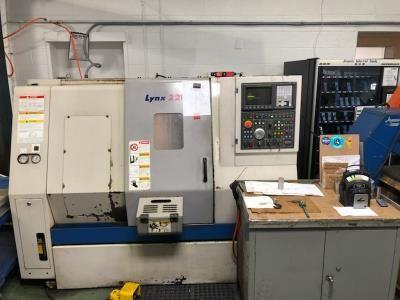 Daewoo Control Fanuc I Series 4000 rpm Lynx 220LC 2 Axis