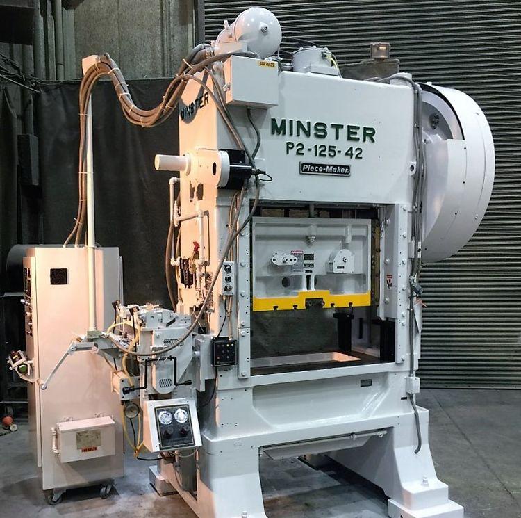 Minster P2-125-42 Max. 125 Ton