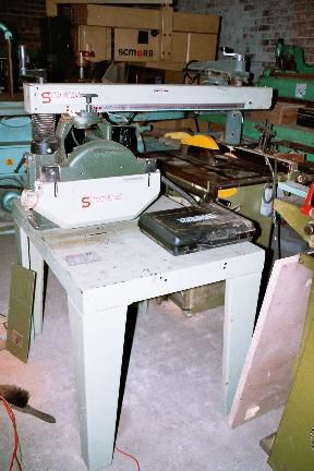 Stromab RS60, Radial Arm C/c Saw