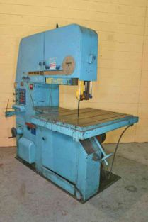 Tannewitz 3600MH Vertical Bandsaw Semi Automatic