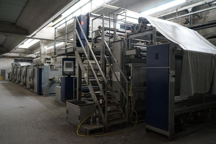 Live Auction Sale Textile Dyeing/Processing Mill