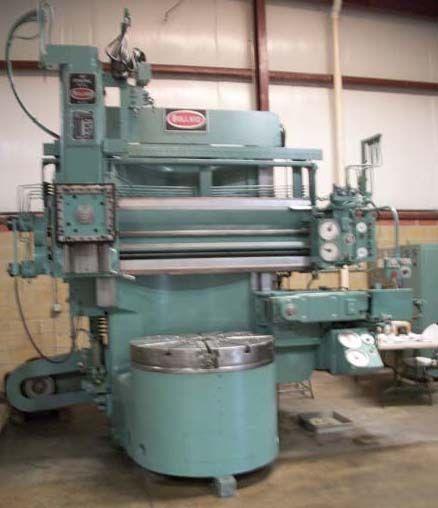 Bullard Max. 1800 rpm Dynatrol  CNC Vertical Boring Mill Machine
