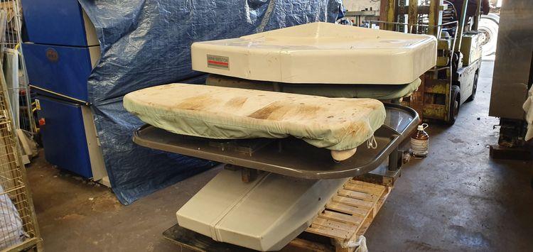 BMM Weston BN62 Double-buck garment press