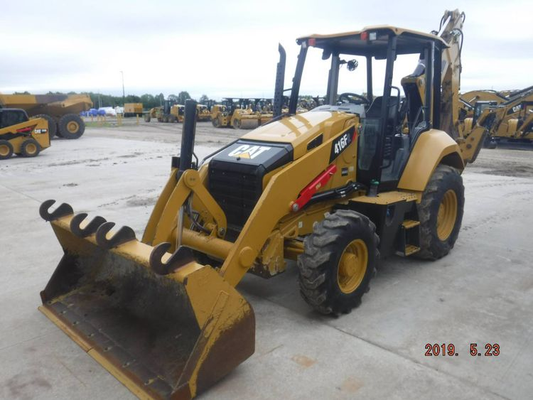 Caterpillar 416F2ST Backhoe Loader
