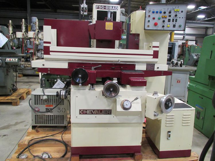 """Chevalier FSG-818AD 3-AXIS HYDRAULIC SURFACE GRINDER, 8"""" x 18"""""""