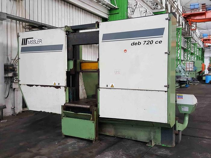 Missler DEB 720 CE Band Saw Semi Automatic