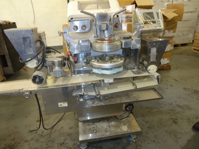 Rheon KN550 Encrusting Machine