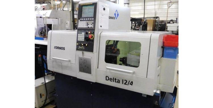 Tornos CNC : Fanuc 0i-TD 12.000 rpm Delta 12/4 4 Axis