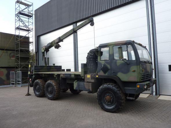 Stewart & Stevenson M1084 MTV 6X6 Cargo truck