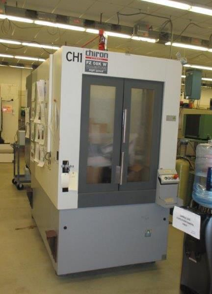 Chiron FZ08KW-MAG Vertical Machining Center 3 Axis
