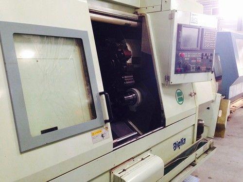 Biglia FANUC 18i-T 4000 rpm CNC LATHE BIGLIA B501 SY 2 Axis