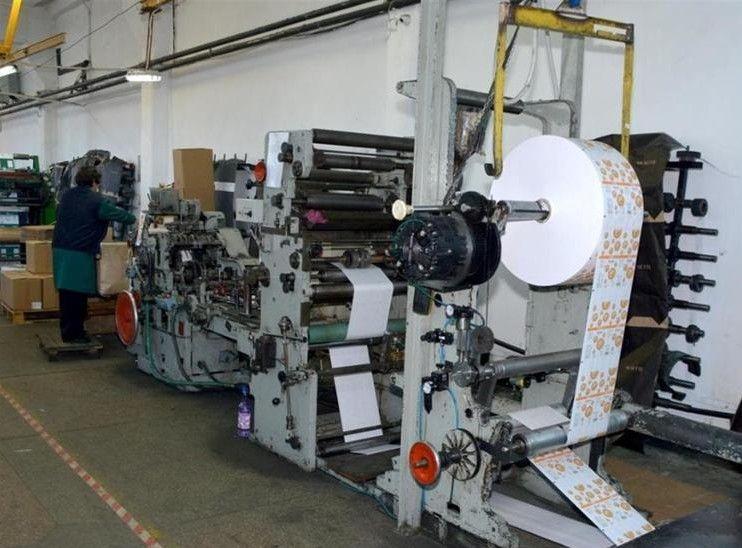 Windmoller and Holscher TRIUMPH 1 S-1271, SOS square bottom bag making machine