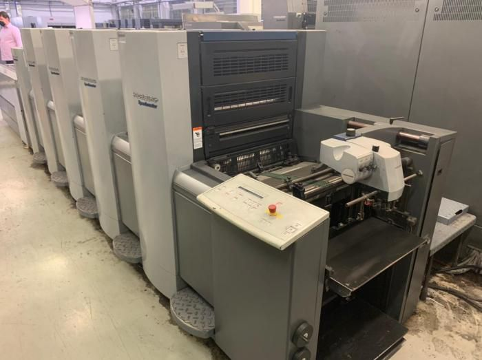Heidelberg Speedmaster SM 52-4+LX 360mm x 520mm