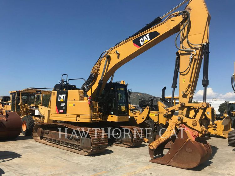 Caterpillar 335FLCR TRACK EXCAVATORS