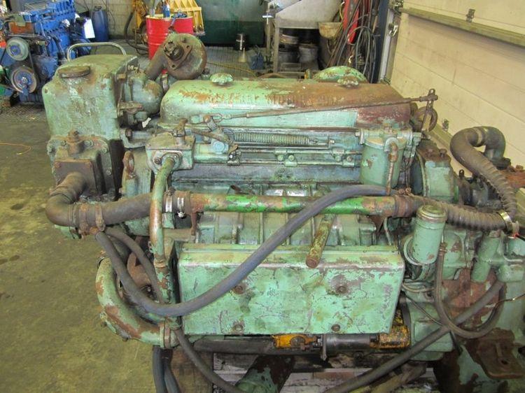 Detroit DIESEL 4-71N Diesel Marine Engine