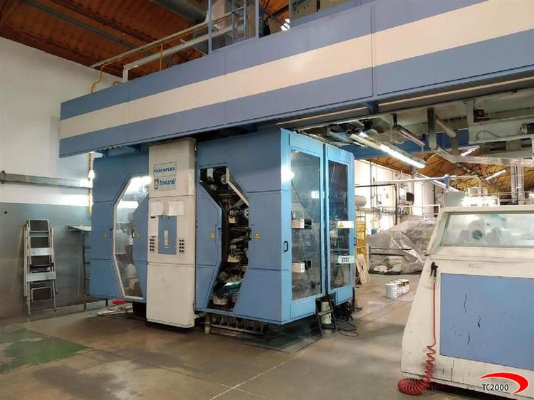 Bonardi MECBI, Flexo central drum printing press 8 1000 mm