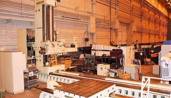 "Giddings & Lewis G60-FX 6"" CNC Floor Type Horizontal Boring Mill 6"" 1120 RPM"