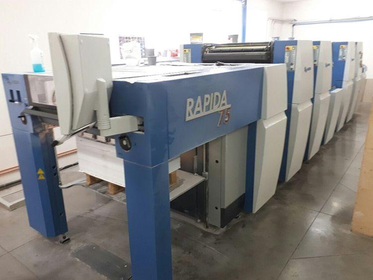 KBA RAPIDA 75-4 SW 4 605 x 530