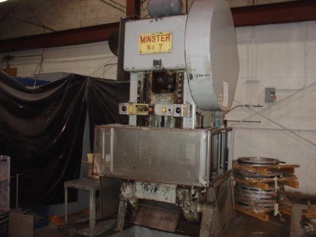 Minster 7, OBI Press machine Max. 75 Ton