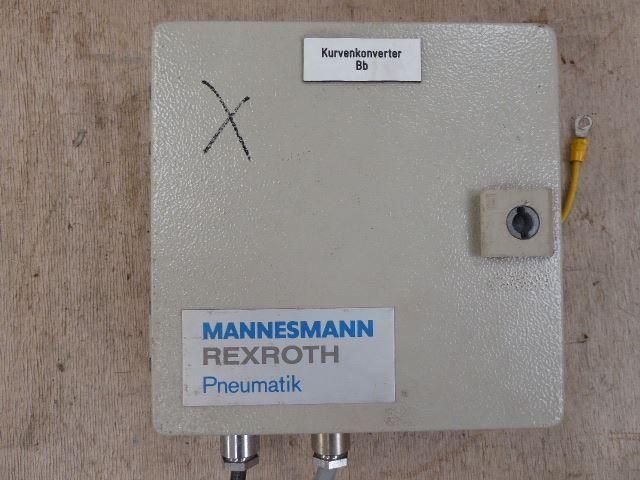 2 Mannesmann, Rexroth Kurvenkonverter