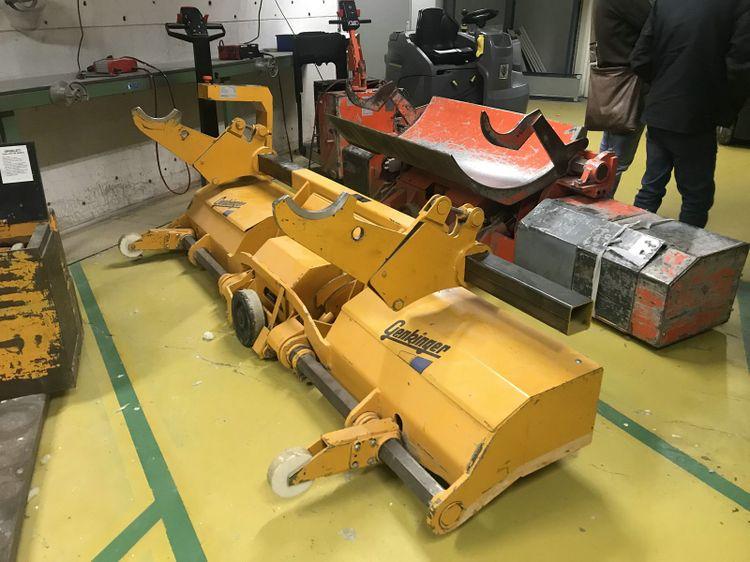 Genkinger EE-KHUR 20-10 warp beam truck