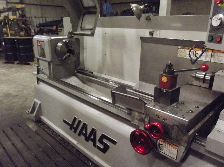 Haas 32 Bit Control Max. 1800 rpm TL-3 2 Axis
