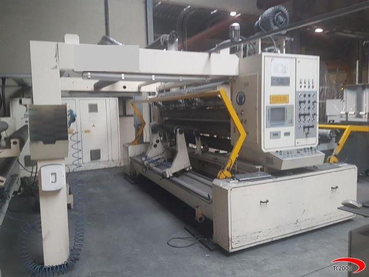 Laem System TR550.10.M, Slitter rewinder 2450 mm