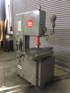 Grob 4V-18 Vertical Band Saw Semi Automatic